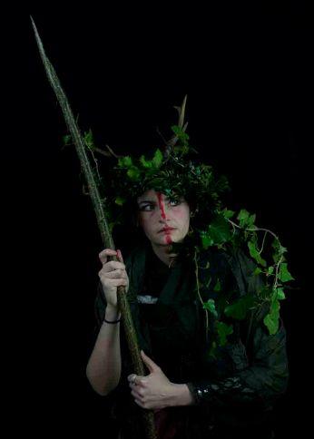 Hazel as Pagan