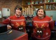 The Brilliant and Festive ABF staff