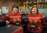 The Brilliant and Festive ABF staff