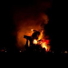 Burning Greenman
