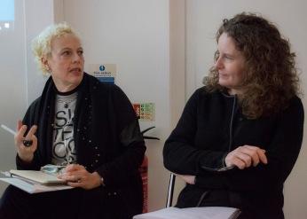 Adele and Lindsay